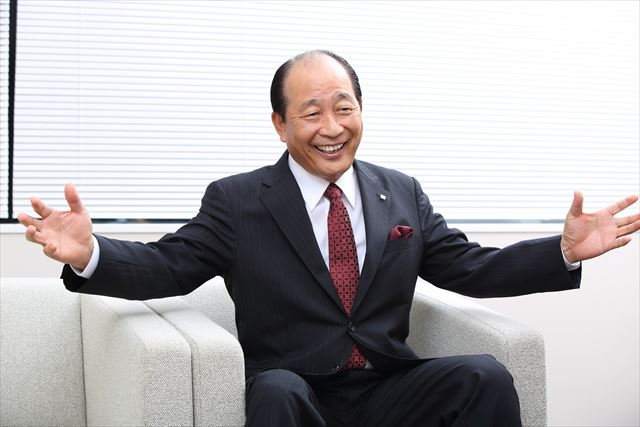株式会社ちふれ化粧品 代表取締役社長の片岡 方和氏